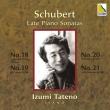 Piano Sonatas Nos.18, 19, 20, 21 : Izumi Tateno (2CD)
