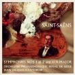 交響曲第1番、第2番、交響曲イ長調 ジャン=ジャック・カントロフ&リエージュ・フィル