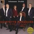 (Wind Quintet & Piano)Schumann Piano Quintet, Dvorak Piano Quintet No.2 : Quintette Moragues, Desert(P)