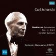 交響曲第3番『英雄』、第9番『合唱』、第1番、序曲『コリオラン』 カール・シューリヒト&フランス国立放送管弦楽団(1959〜65年ステレオ)(2SACD)