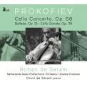 チェロ協奏曲第1番、バラード、ソナタ ロハン・デ・サラム、アナトール・フィストゥラーリ&オランダ放送フィル、ドゥルヴィ・デ・サラム