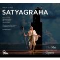 『サティヤーグラハ』全曲 ダンテ・アンゾリーニ&メトロポリタン歌劇場、リチャード・クロフト、他(2011 ステレオ)(3CD)