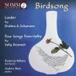 Birdsong-brahms, R & C.schumann, Beamish: Roderick Williams(Br)A.west(P)
