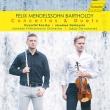 ヴァイオリン協奏曲(フルート版)、無言歌集(ヴァイオリン&フルート版)、他 クシシュトフ・カチカ、ヤロスラフ・ナドジツキ、ヤナーチェク・フィル