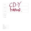 CD-Y 【初回限定生産盤】(12インチアナログレコード)