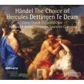 ヘラクレスの選択、デッティンゲン・テ・デウム ローレンス・カミングス&ゲッティンゲン祝祭管弦楽団、クライスト・チャーチ大聖堂合唱団(2CD)
