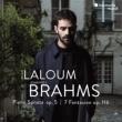 Piano Sonata No.3, Fantasies : Adam Laloum