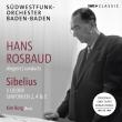 交響曲第2番、第4番、第5番、歌曲集 ハンス・ロスバウト&南西ドイツ放送交響楽団、キム・ボルイ(2CD)