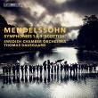 交響曲第3番『スコットランド』、第1番 トーマス・ダウスゴー&スウェーデン室内管弦楽団(日本語解説付)