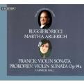 フランク:ヴァイオリン・ソナタ、プロコフィエフ:ヴァイオリン・ソナタ第2番、他 ルッジェーロ・リッチ、マルタ・アルゲリッチ