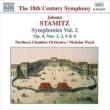 <交響曲集2>交響曲Op.4 ウォード/ノーザン室内管弦
