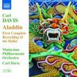 『アラディン』全曲 カール・デイヴィス&マレーシア・フィル(2CD)