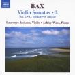 ヴァイオリン・ソナタ第2集 ジャクソン(vn)ウェイス(p)