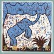水槽の中に象