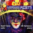 Cello Sonata, Tre Canti: Toivio(Vc)Varbanov(P)