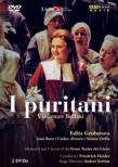 『清教徒』全曲 セルバン演出、ハイダー&リセウ大歌劇場、グルベローヴァ、ブロス、他(2001 ステレオ)(2DVD)