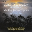 シベリウス:ヴァイオリン協奏曲、シュニトケ:合奏協奏曲 クレーメル、ロジェストヴェンスキー&ロンドン響、グリンデンコ