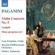 ヴァイオリン協奏曲第5番、無窮動、『こんなに胸騒ぎが』による序奏と変奏曲 イヴァン・ポチェキン、ドミトリー・ヤブロンスキー&ロシア・フィル
