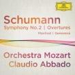 交響曲第2番、『マンフレッド』序曲、『ゲノヴェーヴァ』序曲 アバド&モーツァルト管弦楽団