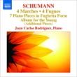 ピアノ小品集〜4つのフーガ、『子どものためのアルバム』追加曲集、他 ホアン・カルロス・ロドリゲス