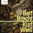 ブレヒト作品録音集〜『三文オペラ』、『七つの大罪』、『マハゴニー市の興亡』、他 レーニャ、ブルックナー=リュッゲベルク指揮、他(10CD)