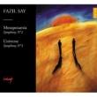 メソポタミア交響曲、ユニヴァース交響曲 アイカル&ボルサン・イスタンブール・フィル、サイ、他