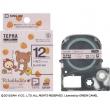 「テプラ」PRO テープカートリッジ いちご(ピンク)/12mm