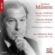 ブラームス:ヴァイオリン協奏曲、ゴルトマルク:ヴァイオリン協奏曲第1番 ミルシテイン、フィストゥラーリ、ブレック、フィルハーモニア管