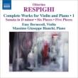 ヴァイオリンとピアノのための作品集第1集 ベルネコーリ、ビアンキ