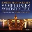 交響曲集、ヴァイオリン協奏曲 マギーガン&カペラ・サヴァリア、カッロー