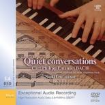 『静寂の語らい〜鍵盤楽器のための作品集』 上尾直毅(クラヴィコード)(音声DVD-R DSDIFF盤)