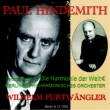 ヒンデミット『世界の調和』、ベト1、ドン・ファン フルトヴェングラー&ベルリン・フィル、ウィーン・フィル