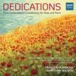 『献呈〜パリ音楽院の作曲家によるフルート作品集〜ケクラン、ルーセル、ゴーベール、他』 フランチェスカ・アルノーネ、ハドソン