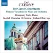 『ベル・カント・コンチェルタンテ〜ピアノと管弦楽のための技巧的変奏曲集』 ローズマリー・タック、ボニング&イギリス室内管