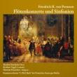 フルート協奏曲、シンフォニア集 M.フリードリヒ、ヘンヒェン&C.P.E.バッハ室内管