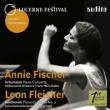 シューマン:ピアノ協奏曲(アニー・フィッシャー、ジュリーニ&フィルハーモニア)、ベートーヴェン:ピアノ協奏曲第2番(フライシャー、セル&ルツェルン祝祭管)