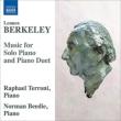 ピアノ独奏と連弾のための作品集 テッローニ、ビーディー