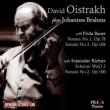 Violin Sonatas Nos.1, 2, 3, Scherzo : Oistrakh(Vn)Sviatoslav Richter, F.Bower(P)