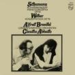 シューマン:ピアノ協奏曲、ウェーバー:コンツェルトシュテュック ブレンデル、アバド&ロンドン響 (180グラム重量盤レコード)