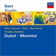 『寄港地』、フルート協奏曲、バッカナール、他 デュトワ&モントリオール交響楽団、ハッチンズ