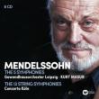 交響曲全集、弦楽のための交響曲全集 クルト・マズア&ゲヴァントハウス管弦楽団、コンチェルト・ケルン(6CD)
