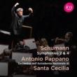 交響曲第2番、第4番 アントニオ・パッパーノ&ローマ聖チェチーリア国立音楽院管弦楽団