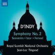 交響曲第2番、思い出、イシュタル、『フェルヴァール』前奏曲 ジャン=リュック・タンゴー&スコティッシュ・ナショナル管弦楽団
