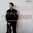 Violin Concertos Nos.1, 2 : Frank Peter Zimmermann(Vn)Alan Gilbert / NDR Elbphilharmonie Orchester (Hybrid)