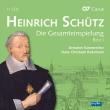 ハインリヒ・シュッツ作品集 ハンス=クリストフ・ラーデマン&ドレスデン室内合唱団(11CD)