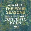 Four Seasons, Sinfonia al Santo Sepolcro, etc : Shunske Sato(Vn)Concerto Koln