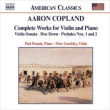 Comp.works For Violin & Piano: Zazofsky(Vn)Posnak(P)Harbaugh(Vc)