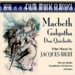Film Music-macbeth, Golgotha, Etc: Adriano / Slovak Rso