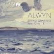 String Quartet, 10, 11, 12, 13, : Tippett Q