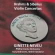 シベリウス:ヴァイオリン協奏曲、ブラームス:ヴァイオリン協奏曲、 ジネット・ヌヴー、ジュスキント、ドブロウェン、フィルハーモニア管(平林直哉復刻)